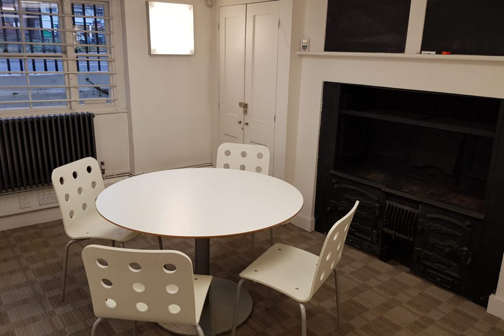 The meeting room that is available to hire for residents