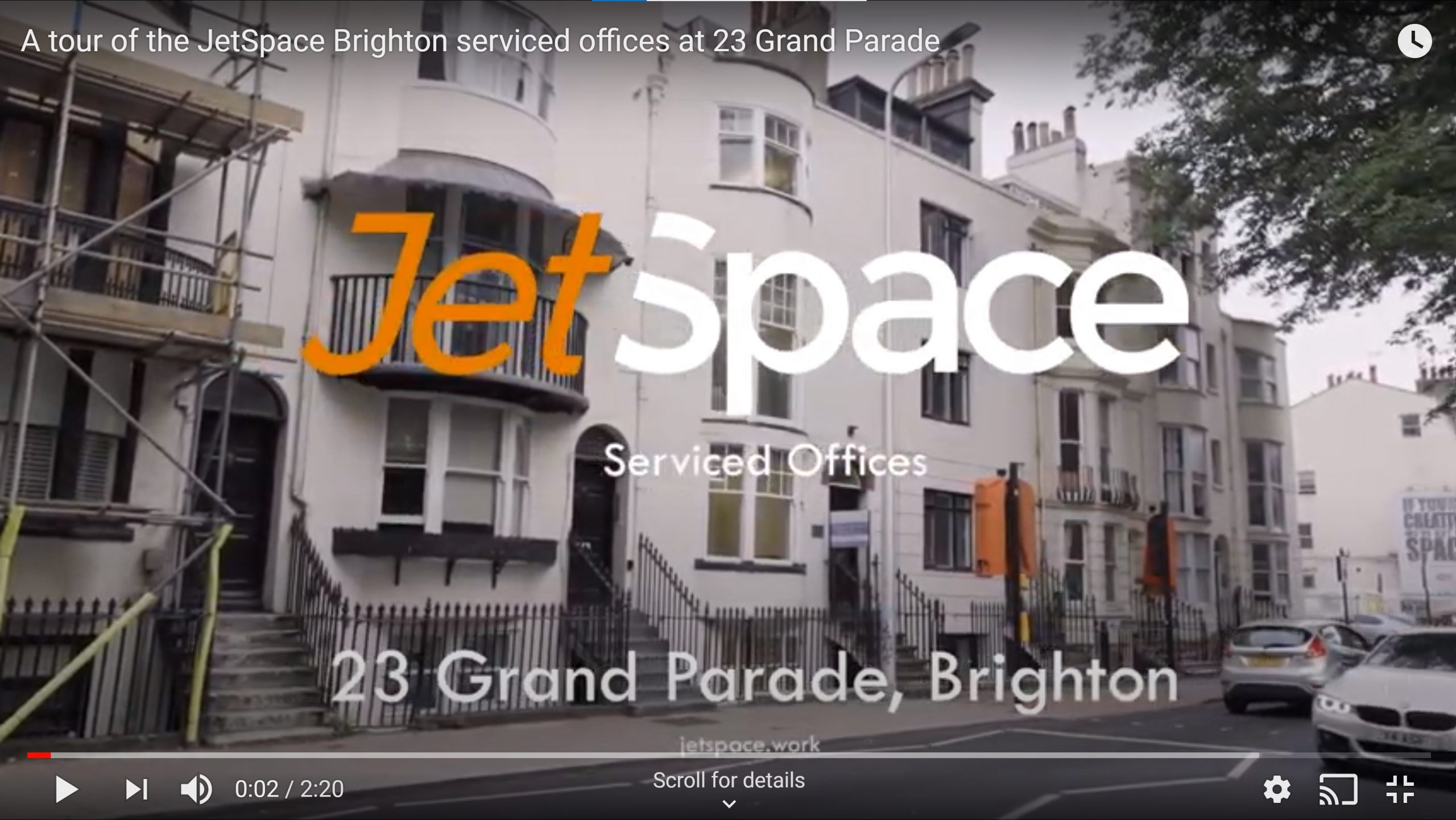 Video tour of 23 Grand Parade