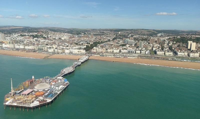 Brighton Aerial View